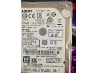 1TB 7200rpm 2.5 HDD hard drive laptop