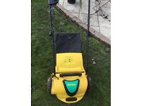 Lawn scarifier and airator by Eckman