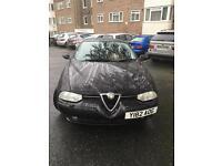 Alfa Romeo 156 T spark black