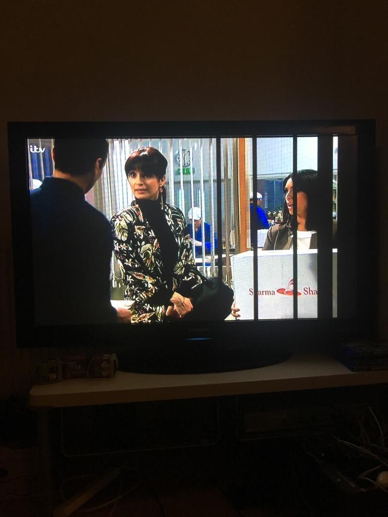 £5 50INCH PLASMA SAMSUNG TV *NOT PERFECT*
