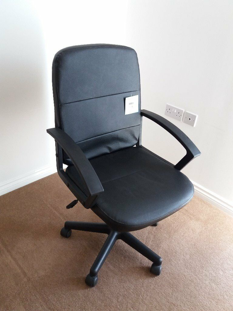 Fabulous Fake Leather Office Swivel Chair In Bromley London Gumtree Download Free Architecture Designs Terchretrmadebymaigaardcom