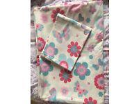M&S flower pattern bedding