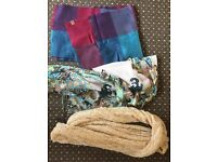 Scarf and Shawl assortment 3x