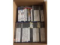 38 PS2 and PS3 games bundle play station