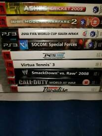 PS3 Games INC Lego, Fifa Call of Duty