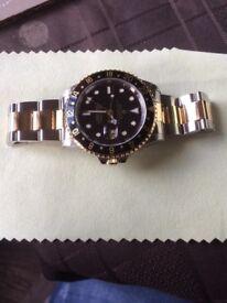 Rolex gmt master 16713 bi metal 1999 a serial stolen