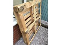 X3 wooden pallets free