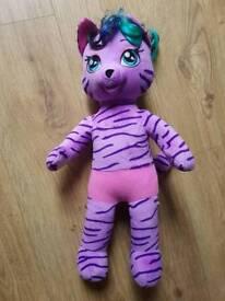Build A Bear Purple Cat