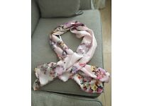 Beautiful 100% silk floral Ted Baker scarf £20.00