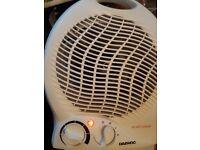 small fan heater by DAEWOO