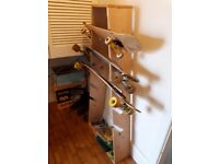 Longboard Stand / Rack / Display unit