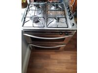 Counter top hob and built under grill oven, ALL GAS