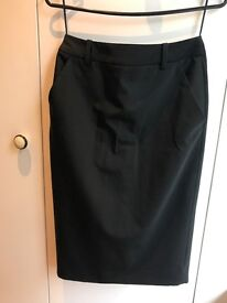 Sophisticated, lined Whistles Pencil Skirt, UK