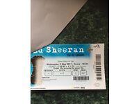 Ed Sheeran Ticket. 02 London 3rd May