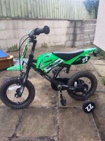 Children's 'motorbike' style first bike. Bristol.