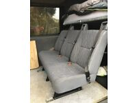 Triple seat from my VW Crafter with mounting rails