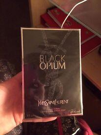 black opium 90ml botle