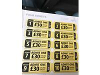 10 paintball tickets