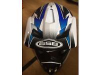 GSB MOTORCYCLE SPORT HELMET OFF ROAD MOTOCROSS NEW