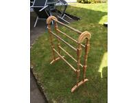 Bathroom Towel rail beech