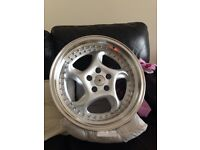 """18"""" river r6 wheels 9.5x18 5x112 BRAND NEW IN BOXES"""