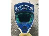 As new answer motocross helmet