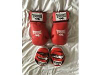 Lonsdale XL gloves and pads £10