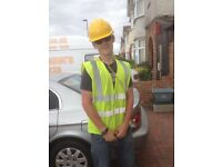 looking for work in all general labouring/general maintaineince work.