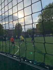 Casual 5-a-side footy every Thursday 7pm in Pitshanger Park!