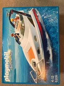 Play mobile summer fun speed boat
