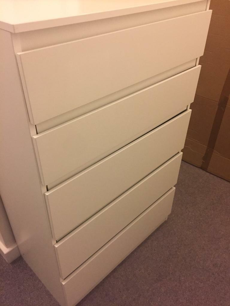 SOLD Brand new Ikea Kullen white drawers