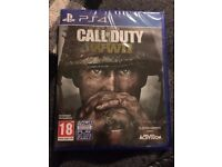 Call of Duty WWII PS4 Brand New!!