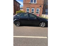 Black Ford Focus zetec 2008