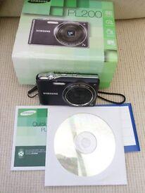 Samsung PL200 digital camera 14Mpixel
