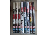 The complete Mad Men series on eight DVDs