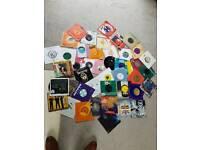 333x Random records/vinyl/Lp's