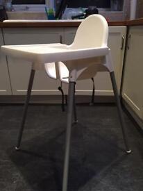 Ikea high chair x2