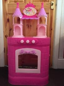 Princess castle kitchen