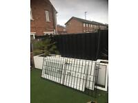 Wrought iron gates £100 for 2 sets that's 4 gates or 2 sets of 2