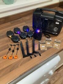 Fox Mx Microns with receiver and extras