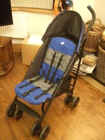 JOIE FOLDING BUGGY, Blue & Black,Good condition,Used