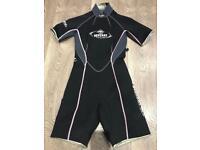 Beuchat Shortie Girls Wet Suit Size EUR 2