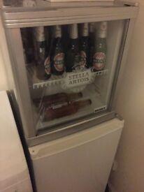 Husky Stella Disco Beer fridge