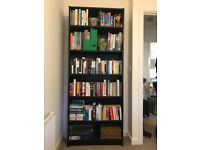 IKEA billy bookcase large in black EXCELLENT CONDITION