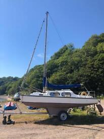 Sailing yacht / boat 19ft