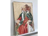 Watercolour Portrait of Gentleman