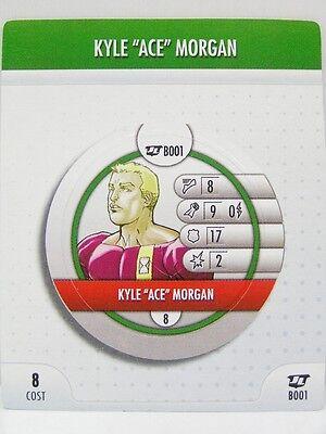 HeroClix Justice League - B001 Kyle Ace Morgan