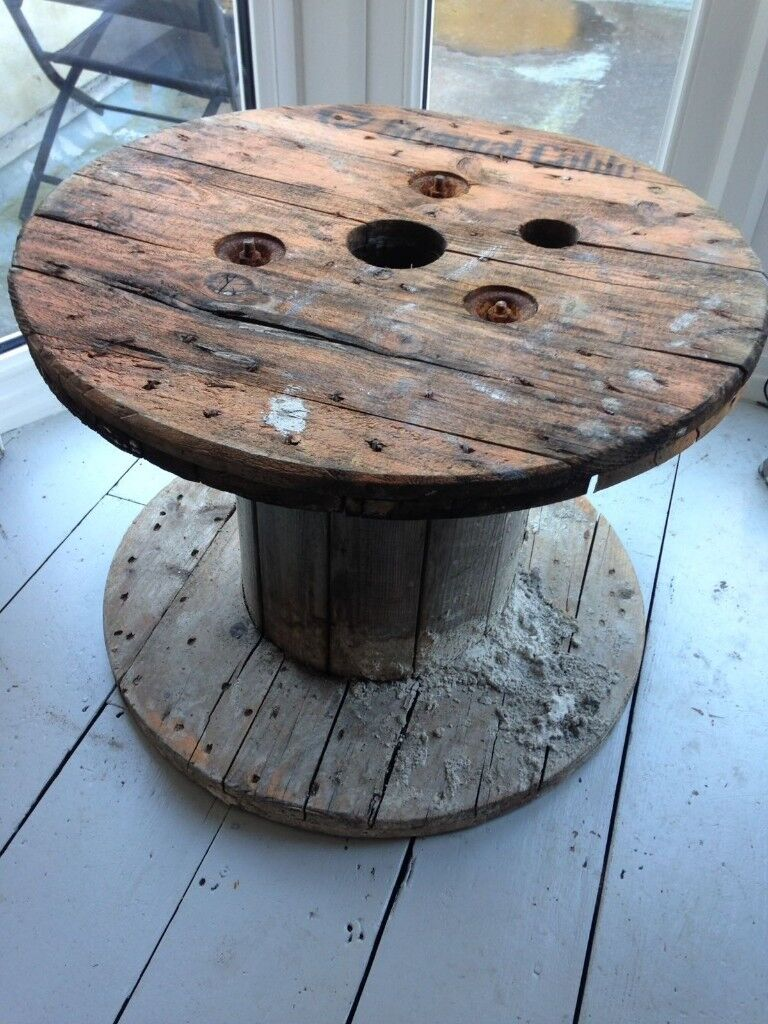 Wooden Cable Wheel