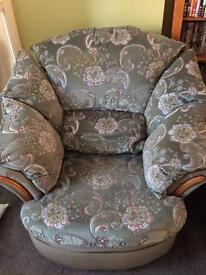 Three piece sofa suite for sale