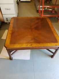 Beautiful reproduction coffee table